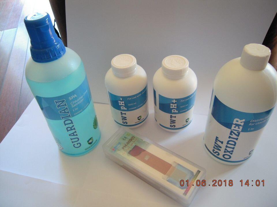 Guardian SWT Spa – langtidsvirkende klorfrie spakjemi som fjerner alle bakterier